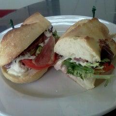 Photo taken at La Bonne Soupe Cafe by David K. on 3/27/2012