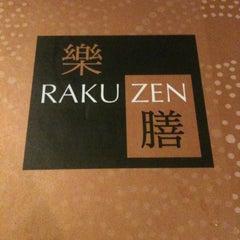 Photo taken at Rakuzen by Nicholas K. on 5/26/2012