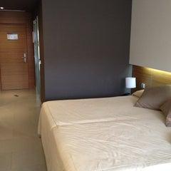 Photo taken at Thalasia Hotel & Thalasso Center by Antonio O. on 9/1/2012