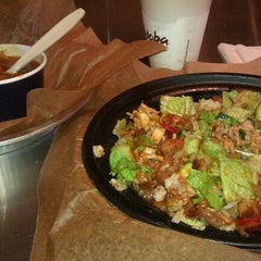 Photo taken at Qdoba Mexican Grill by Justin S. on 8/30/2011