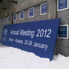 Photo taken at World Economic Forum 2012 (Davos Congress Center, WEF) by Megan on 1/25/2012