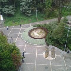 Photo taken at Pontificia Universidad Javeriana by Fernando J. on 3/13/2012