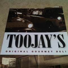 Photo taken at TooJay's Gourmet Deli by Christopher T. on 7/7/2011