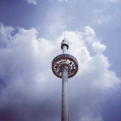 Photo taken at Menara Taming Sari by Wallace W. on 3/17/2012