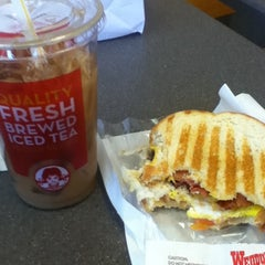 Photo taken at Wendy's by Sue Z. on 3/10/2012