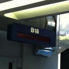 Photo taken at Gate B18 by John M. on 10/14/2011