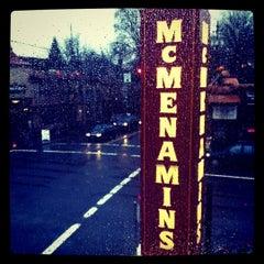Photo taken at McMenamins on Broadway by Bryan H. on 12/28/2010