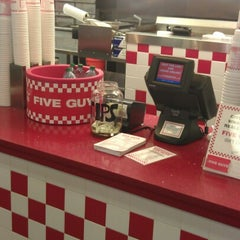 Photo taken at Five Guys by Mr Stone P. on 9/8/2012