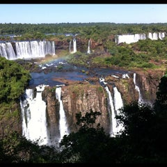 Photo taken at Cataratas del Iguazú by Rodrigo D. on 1/26/2012