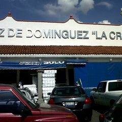 Photo taken at Mercado La Cruz by Elisa on 8/26/2012