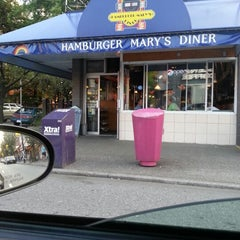 Photo taken at Hamburger Mary's Diner by BeA K. on 7/27/2012