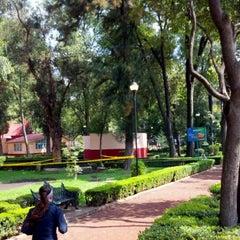 Photo taken at Parque Arboledas by Mr Silent on 7/21/2012