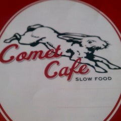 Photo taken at Comet Cafe by AJ D. on 10/17/2011