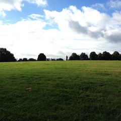 Photo taken at Blythe Hill Fields by Miles B. on 8/25/2012