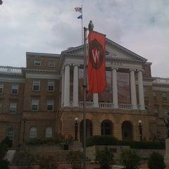 Photo taken at Bascom Hall by Hernando R. on 9/27/2011