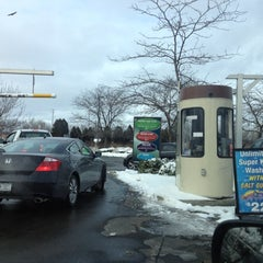Photo taken at Delta Sonic Car Wash by Laura F. on 1/14/2012