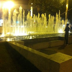 Photo taken at Praça Diogo de Vasconcelos (Praça da Savassi) by thallisson s. on 7/29/2012