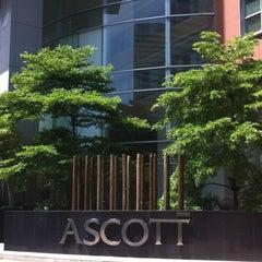 Photo taken at Ascott Sathorn Bangkok by Wat B. on 8/22/2012