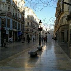 Photo taken at Calle Marqués de Larios by Pedro P. on 11/15/2011