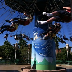 Photo taken at Silly Symphony Swings by Jessica w/ E. on 8/26/2012