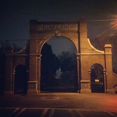 Photo taken at Oakland Cemetery by Tyler L. on 2/29/2012