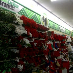 Photo taken at Dollar Tree by NoirSocialite on 12/7/2011