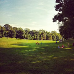 Photo taken at Prospect Park (Long Meadow) by Van S. on 8/24/2012