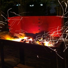 Photo taken at 8 Pek Kong BBQ Spot by kent j. on 12/24/2010