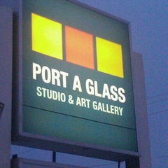 Photo taken at Port A Glass - Studio & Art Gallery by Sheri H. on 9/11/2011