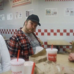 Photo taken at Five Guys by Molly H. on 12/3/2011