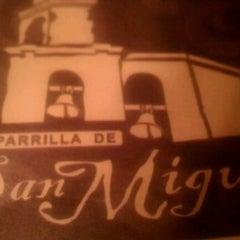 Photo taken at Parilla De San Miguel by Teresa G. on 12/18/2011
