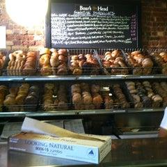 Photo taken at Brooklyn Bagel & Coffee Company by @AstoriaHaiku on 9/1/2012