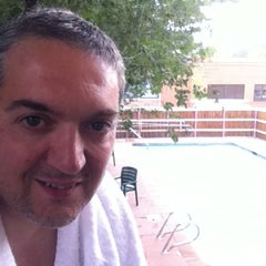 Photo taken at University Inn by victor b. on 8/3/2012