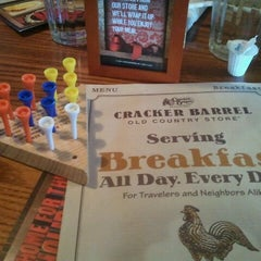 Photo taken at Cracker Barrel Old Country Store by Tony M. on 12/19/2011