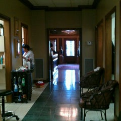 Photo taken at Norris of Houston Salon & Day Spa by Liam F. on 12/16/2011