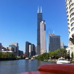 Photo taken at Chicago Architecture Foundation River Cruise by Paul R. on 9/3/2012