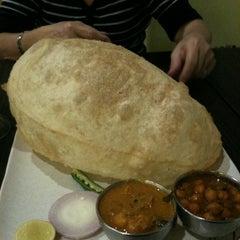 Photo taken at Ananda Bhavan by Belinda A. on 4/22/2011