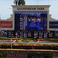 Photo taken at Gulfstream Park Racing and Casino by Charlene C. on 1/2/2012