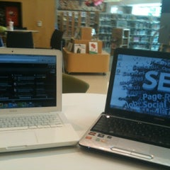 Photo taken at Cameron Village Regional Library by Cole W. on 5/19/2012