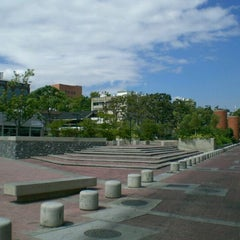 Photo taken at Plaza Alfredo Sadel by Edgar G. on 10/23/2011