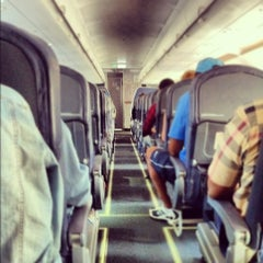 Photo taken at Spirit Airlines Flight 336 by Pascal D. on 7/19/2012