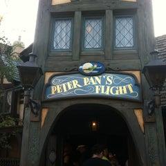 Photo taken at Peter Pan's Flight by Maryanne on 8/7/2012