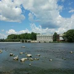 Photo taken at Ile des Moulins by Olivier L. on 7/2/2012