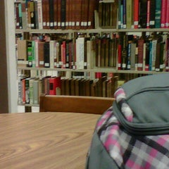 Photo taken at Dunn Library by Lakeisha K. on 10/14/2011