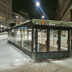 Photo taken at Erottajan paviljonki by Markku S. on 1/9/2012