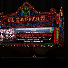 Photo taken at El Capitan Theatre by Mandy R. on 10/24/2011