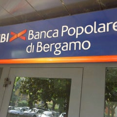Photo taken at UBI - Banca Popolare di  Bergamo by Ermanno on 5/12/2012