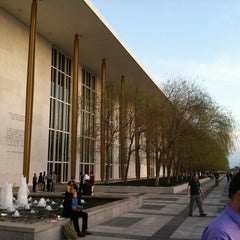 Photo taken at John F. Kennedy Center Eisenhower Theatre by Joey W. on 3/20/2012