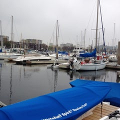 Photo taken at Whitehall Spirit Rowing Club Marina Del Rey by Adam R. on 3/30/2012