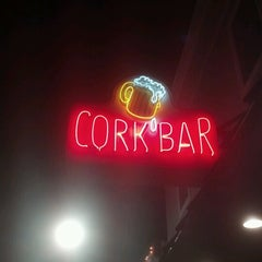 Photo taken at Cork Bar by Ron M. on 6/19/2012
